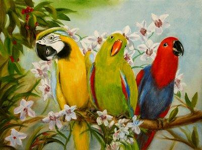 Parrots-indian-politics-satire-deepak-rana-blog