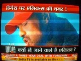 India TV -Himesh-Aliens